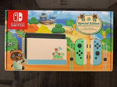 $ CDN315.50 • Buy Nintendo Switch Console Animal Crossing: New Horizons Special Edition New