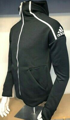 £29.99 • Buy Adidas Zne Black Hooded Track Top With Thumb Holes Size  2xl Only £29.99