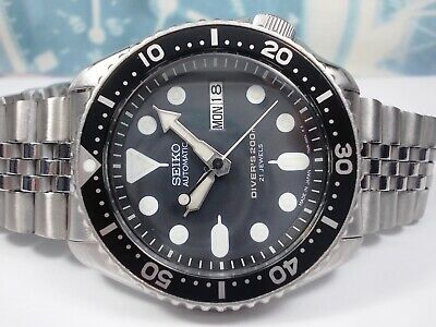 $ CDN53.46 • Buy Seiko 200m Scuba Divers 'japan' Skx007j Mens Watch 7s26-0020 Patina (sn 020441)