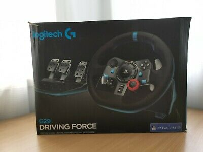 AU339 • Buy Logitech G29 Driving Force Racing Wheel For PS3/PS4 / PC