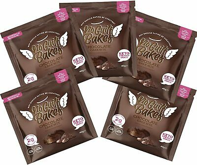 Chocolate Keto Cake Bite -Gluten Free & No Sugar Added, Healthy Diabetic, Desser • 1.99£