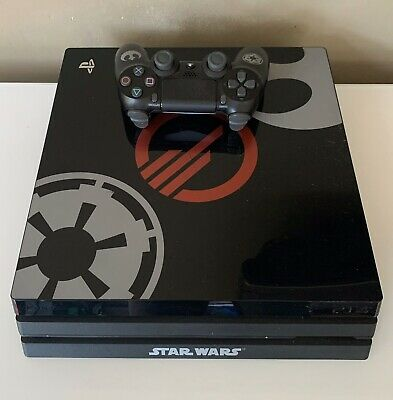 AU639.95 • Buy PS4 PRO STAR WARS CONSOLE & Controller 1TB *Limited Edition* Sony Playstation 4