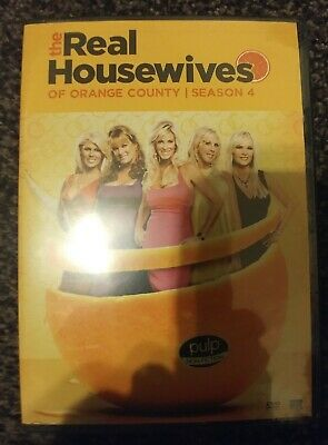 £13.09 • Buy The Real Housewives Of Orange County: Season 4 - 2011 Four DVD Set - Sealed