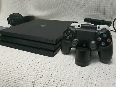 AU275 • Buy Sony PlayStation 4 Pro Console PS4 Pro 1TB Upgraded To 256 SSD + 2 Controllers