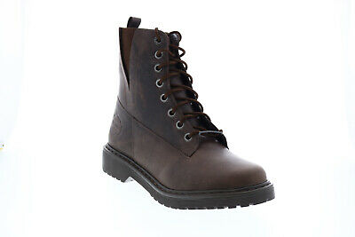 $ CDN51.60 • Buy Harley-Davidson Anslee D84574 Womens Brown Leather Lace Up Motorcycle Boots
