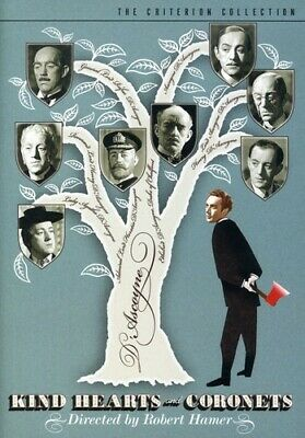 Criterion Coll: Kind Hearts & Coronets [ DVD Incredible Value And Free Shipping! • 39.99£
