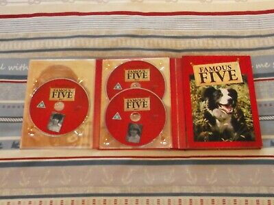 Enid Blyton's Famous Five Collector's Edition 1970's 6-Disk DVD Set • 29.99£