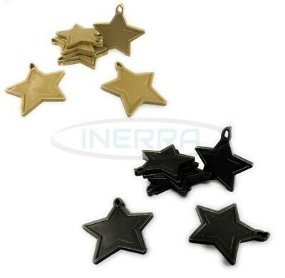 £3.99 • Buy Star Balloon Weights For Helium Balloons - Multipack - Gold & Black