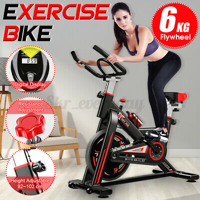 Exercise Spin Bike Home Gym Bicycle Cycling Cardio Fitness Training Workout Bike • 379£