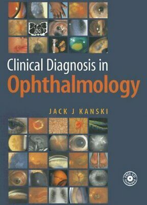Clinical Diagnosis In Ophthalmology Hardcover Jack J. Kanski • 8.58£