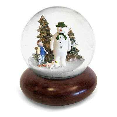 Illuminated The Snowman, Billy & Snowdog Musical Snow Globe • 23.99£