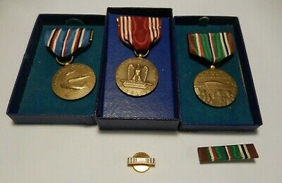 £46.14 • Buy WWII Medals Campaign & Service Good Conduct Medal & EAME Campaign
