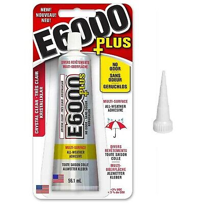 E6000 Plus Craft Glue And Original Snip Tip Nozzle Fabric,Wood, Jewellery, Gl... • 24.99£