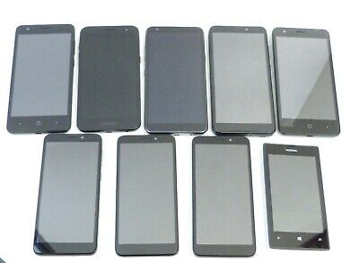 $ CDN248.72 • Buy Lot Of 9 Nokia Samsung Lg Alcatel Zte At&t As Is/ch30/12