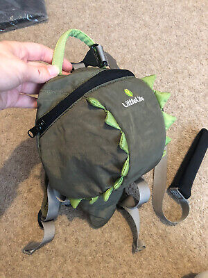 LittleLife Toddler Backpack / Safety Reins (Crocodile / Dinosaur Design) • 6£