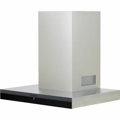 £180 • Buy Candy CTS6CEX Built In 60cm 4 Speeds A Chimney Cooker Hood Stainless Steel