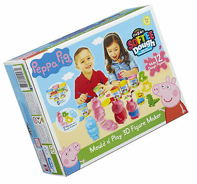 Peppa Pig 21027 Dough Mould And Play 3D Figure Maker (Multi-Colour) • 23.99£