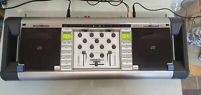 Home Mix Kit-3 Twin Cd Dj System, Full Serviced And Cleaned, New Lens • 100£