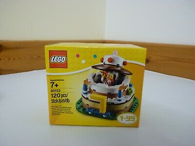 LEGO Birthday Table Top Decoration Cake Pop Up Jester Minifigure 40153 BN Sealed • 22£