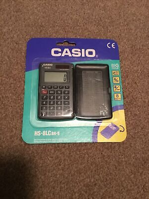 Vintage Casio HS-8LC Credit Card Sized Calculator BRAND NEW  • 3.25£