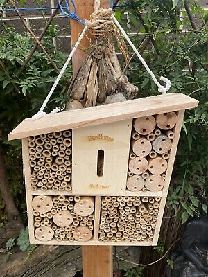 AU54.95 • Buy AU Bee & Insect House Habitat Tower Hotel Garden Nest Eco Friendly