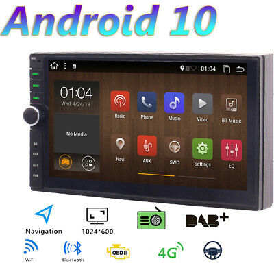 AU221.33 • Buy Double 2 Din 7  Android 10.0 Car Stereo GPS Radio HD BT Navigation Head Unit