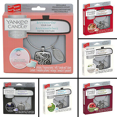 Yankee Candle Charming Scents Car Air Freshener Aroma Locket Car Fragrance Scent • 5.95£