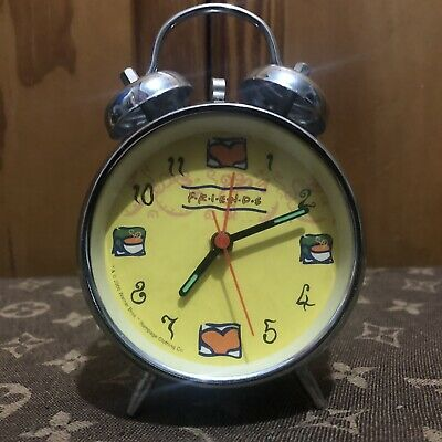 Super Cool Vintage Friends Alarm Clock From 2000 Warner Bros RARE Collectors • 24£