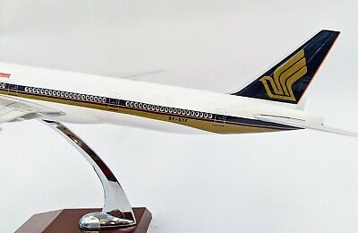 AU120 • Buy Singapore Airlines Large Plane Model 777 On Stand Apx 45cm