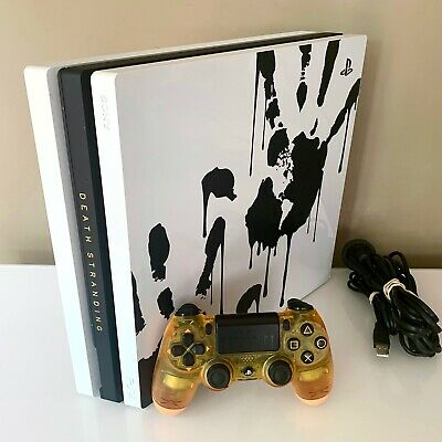 AU589.90 • Buy PS4 Pro DEATH STRANDING Rare Console * Limited Edition * 1TB Sony Playstation 4