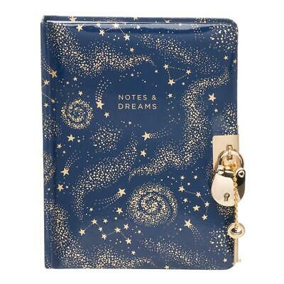 WHSmith Notes And Dreams Lockable Journal • 8.09£
