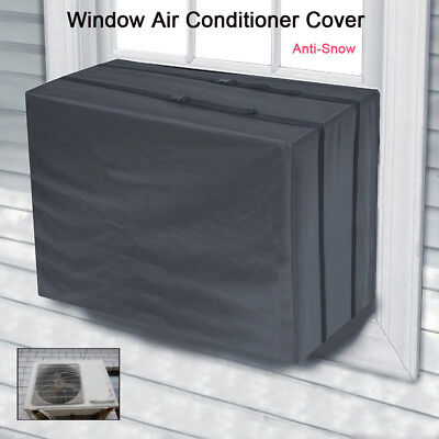 AU26.55 • Buy Window Air Conditioner Case Cover For Air Conditioner Outdoor Wall Anti-Snow PA