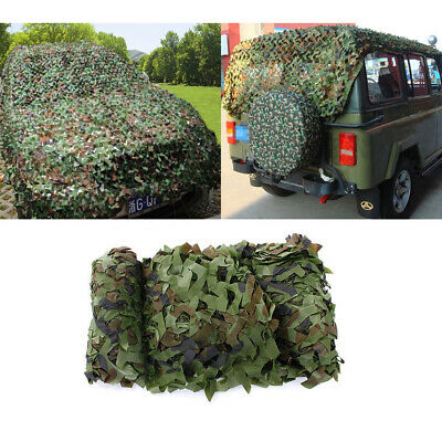 $19.69 • Buy Woodland Camouflage Hunting Netting Military Camo Net Camping Cover 6.5 X 13ft