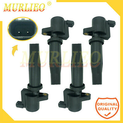 $64.99 • Buy Ignition Coils Fit Ford Focus Escape Mazda 3 6 Tribute Mercury 4M5G-12A366-BC
