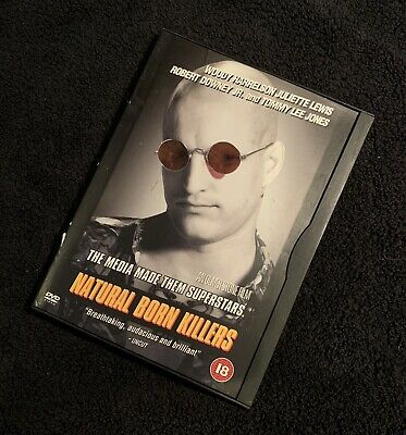 NATURAL BORN KILLERS DVD *FREE Delivery* • 2.45£