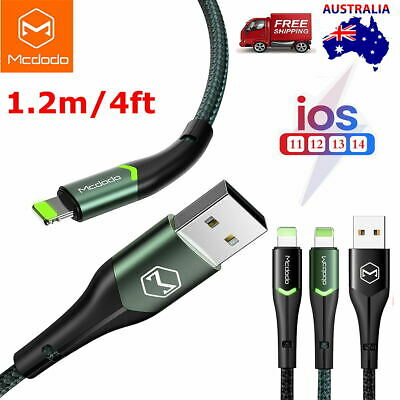 AU13.89 • Buy Mcdodo Lightning Cable Charging Cord Charger IPhone 12 Pro Max 7 8 Plus XR 11 XS