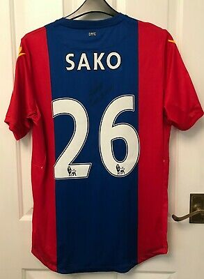 2016/17 CRYSTAL PALACE - BAKARY SAKO SIGNED MATCH WORN SHIRT No 26  • 75£
