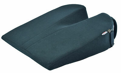 £49.96 • Buy The 11° Coccyx Seat Wedge Posture Cushion Support Velour Cover Black
