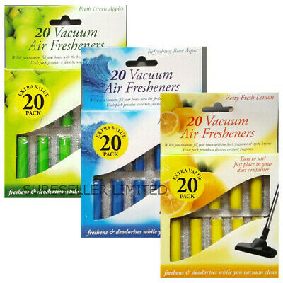 20pk Vacuum Scented Air Freshners Hoover Dust Bags Filters Cleaner Freshener Vac • 2.77£