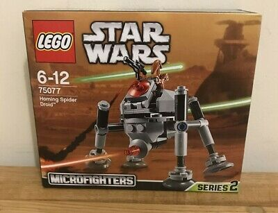 Lego Star Wars Microfighters 75077 Homing Spider Droid New And Sealed • 19.99£