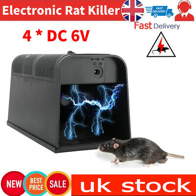 £27.87 • Buy Powerful Electronic Mouse Trap Control Rat Killer Pest Mice Electric Rodent