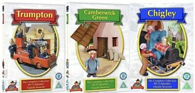 £47.95 • Buy Trumpton Complete Series DVD Trumptonshire Chigley Camberwick Green Collection