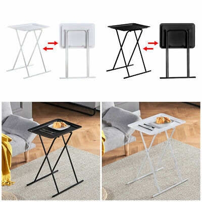 £23.99 • Buy Small Dining Table Coffee Table Side Table Indoor Outdoor Furniture Folding Desk