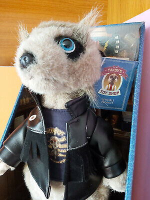 NEW MEERKAT VASSILY YAKOV'S TOY SHOP CERTIFICATE Of AUTHENTICNESS & LETTER • 5.99£