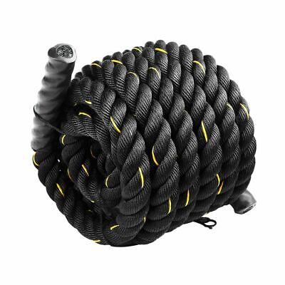 AU80.95 • Buy Battle Rope Dia 3.8cm X 9M Length Poly Exercise Workout Strength Training