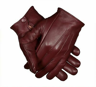 $26.99 • Buy Unlined Driving Gloves With Snaps | Genuine Leather | Perfect Fit | Premium Soft