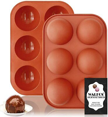 Half Ball Sphere Silicone Cake Mold Chocolate Cookie Ice Candy Baking Mould • 2.98£