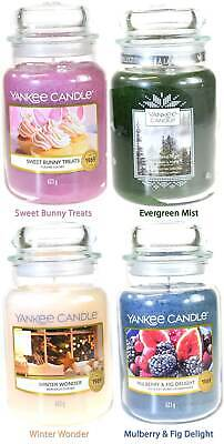 Yankee Candle Scented Fragrance Candles Large 623g Christmas Easter Collection • 18.56£