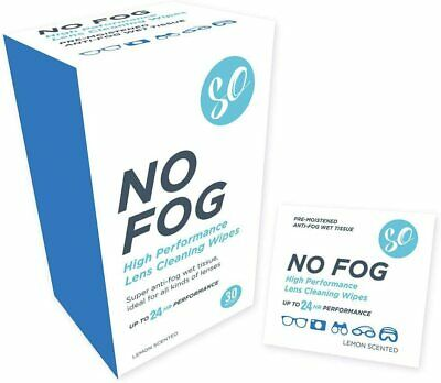 30 Anti-Fog Wipe Eyeglasses Cleaning Cloths Cleaning Wipes For Eyeglasses 30 • 5.99£