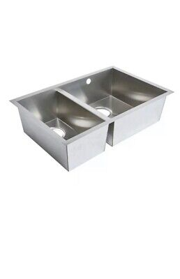 Stainless Steel Solid Sink  Cooke & Lewis Cajal 1.5 Bowl • 74£